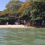 Vista de la playa Tartaruga