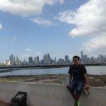 Vista de Panama City desde el Casco Antiguo