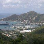 Vista de Tortola