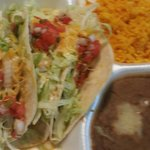 Taco Platter absolutely great