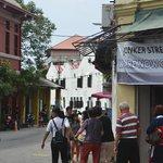 Jongker street Malaka