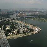Marina Bay Sands Skypark - view