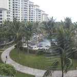 View of kid's pool and Moana Tower