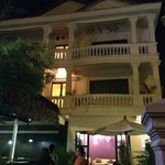 The Villa Siem Reap at night