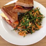 Perfect Lunch - Toastie & Salad!