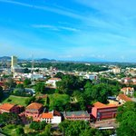 View from Taming Sari Tower