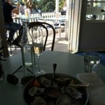 Great Spot On a Sunny Day for Oysters & Bubbles