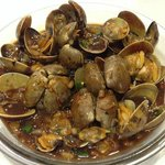 Clam with black-bean sauce (鼓汁 炒蜆)