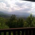 View from porch of Keen Eye View