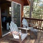 Cabin C2 balcony