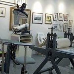 The Printmaster Studio. You can talk to the printers and watch them work.
