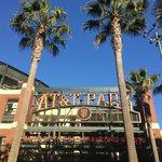 Entering the ballpark