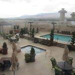 Swimming Pool Area, Atlantis Casino, Reno, NV