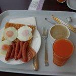 Western choice breakfast