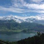 Phewa lake & Machhapuchhre