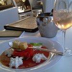 Гаспачо и розовое вино