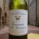 The wine from Strozzi winery