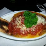 Beef lasagna! Very very good and not overly rich