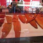 Salmone in bella vista