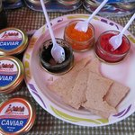 Degustazione di caviale