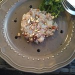 Tartar de cebiche de le bouchon a la mer