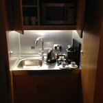 The kitchen in the cupboard!