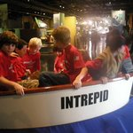 kids at Intrepid NYC