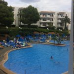 pool view from room 106 block M