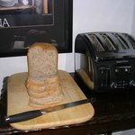 Bread baked fresh for you every morning
