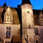 Visite nocturne du château.