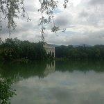 Salzburg - Leopoldskronerweiher - liegt ausserhalb des Freibades