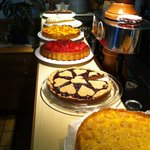 Alcune delle torte tra cui scegliere