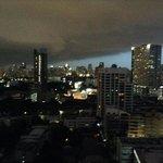 Bangkok depuis le 20e etage de Pantip Suites