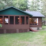 Cabin 5- our home for a week