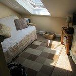 attic single sitting area