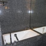 large seperate tub