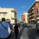 viale dove si trova l'hotel