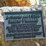 In ricordo.,... piazza Marco Pantani a Cesenatico