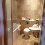 Gorgeous Bathroom With Great Shower
