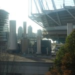 View from room of BC Place