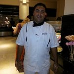 Head Chef extremely helpful & conscientious.