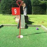 Little bit of crazy golf in the gardens