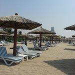 pool beach area