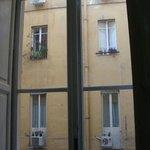 Вид из окна нашего номера