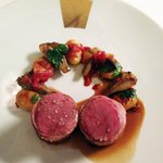Lamb with Gnocci and vegetables