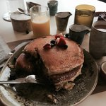 This was a SHORT STACK- best pancakes!-great coffee
