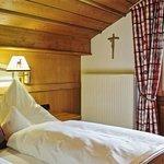 Das gemütlich Schlafzimmer in der Bergruh Suite