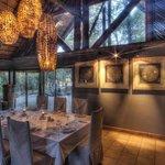 Savute Safari Lodge Dinning room