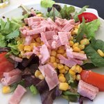 Salade du menu enfant