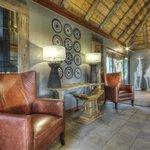 Savute Safari Lodge Lounge